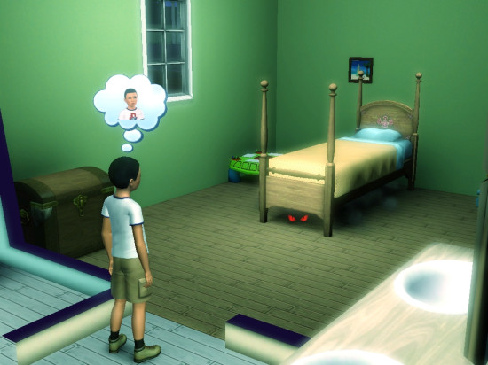 Use the Sims to help with creative writing