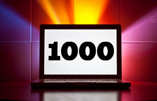 write 1000 words a day challenge