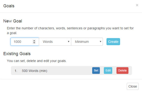 free online word count tracker