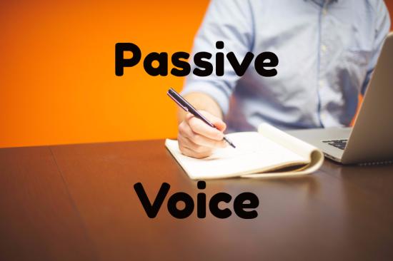 How to identify passive voice