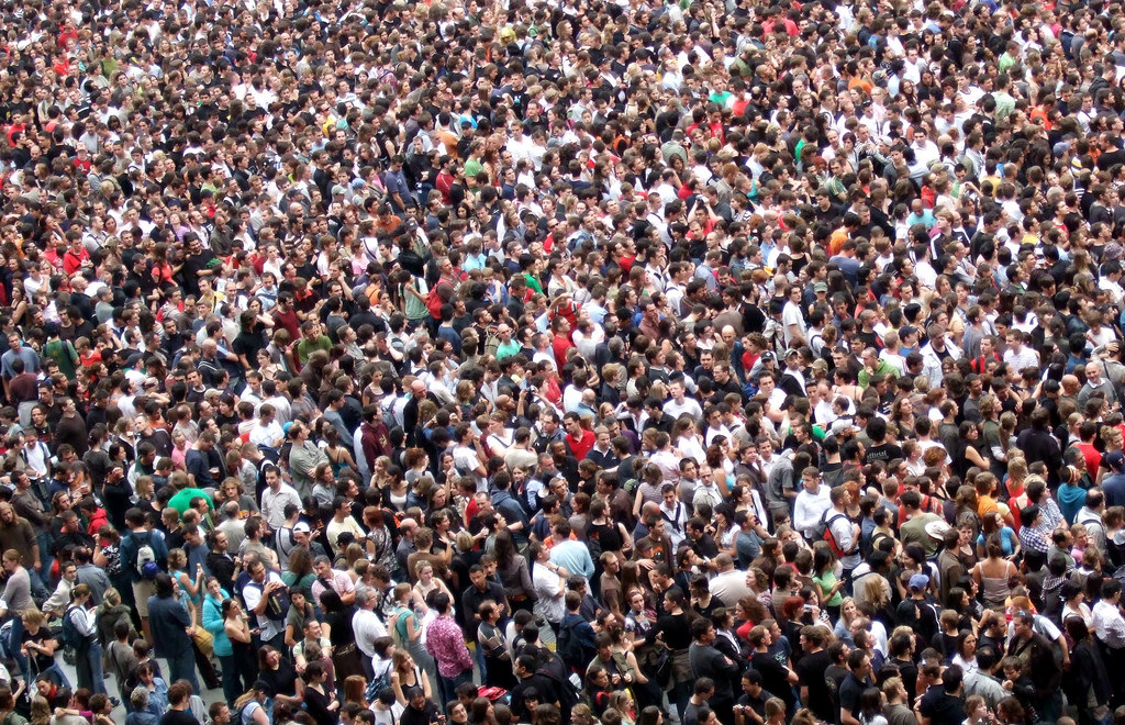 Tens of thousands of people