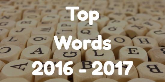 top words 2017