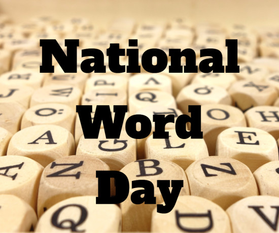 National Word Day is March 15