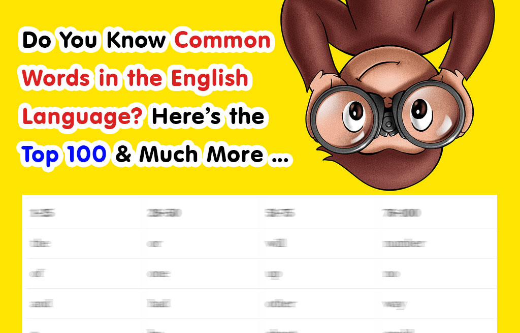 Most monly Used Words in the English Language – Word Counter Blog