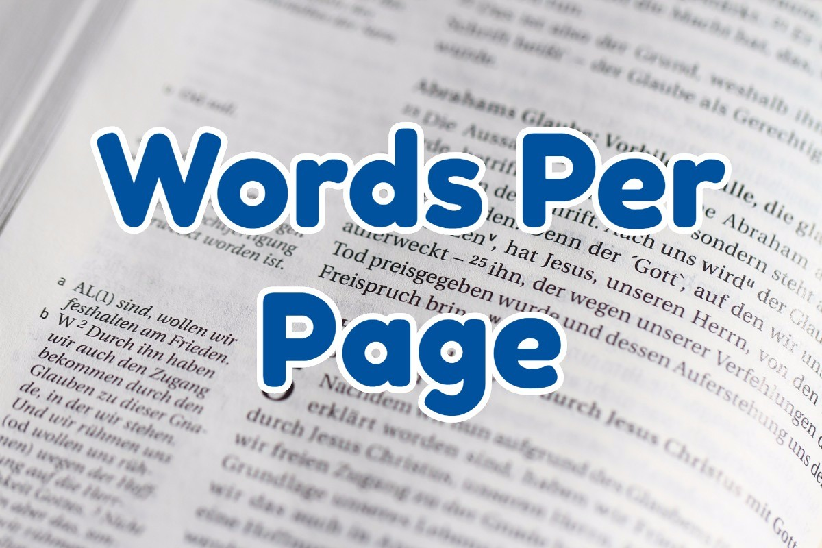 Words Per Page: convert words to pages calculator